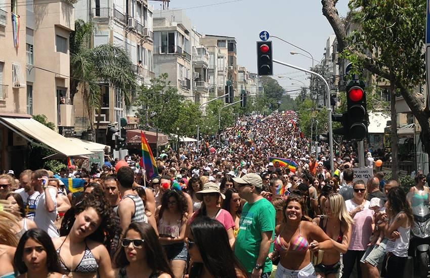 Gay pride de Tel Aviv : encore plus fort que l'année dernière !