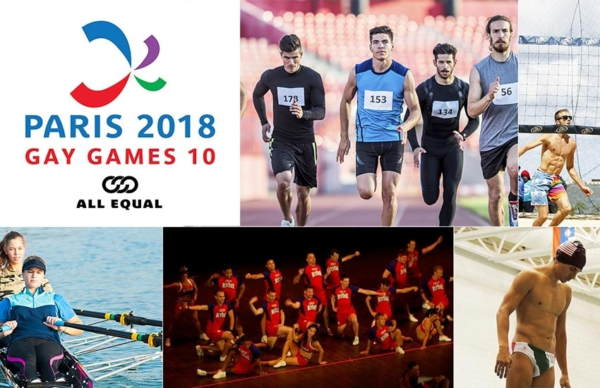 Paris 2018 Gay Games 10: Registrations are open!