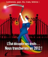 Samedi, la gay pride de Nancy sera... tranchante !