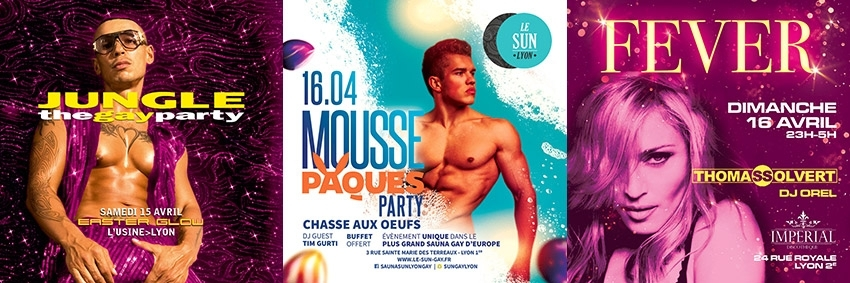 Easter Gay Weekend Lyon