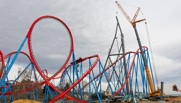Plus haut, plus vite, plus fort, une nouvelle attraction star à Port Aventura !