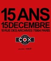 15 ans, Happy Birthday Mister Cox !