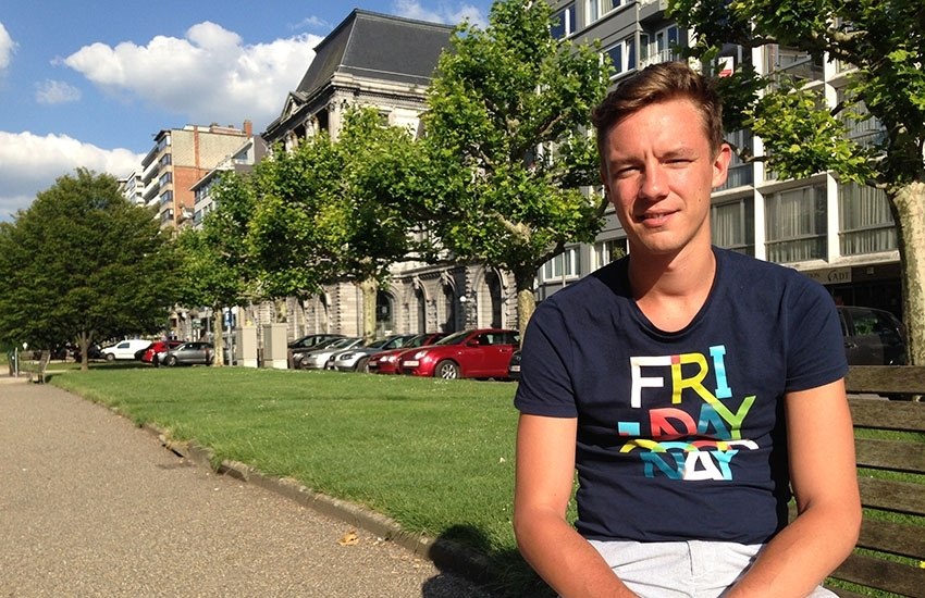 Gay-friendly Liege, Belgium: meet our guide Vincent Bonhomme