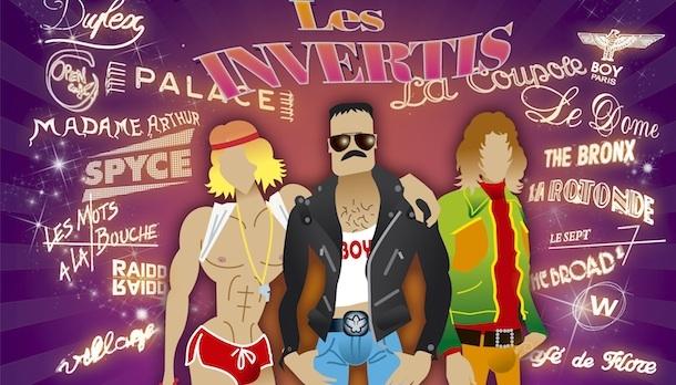 """Avec """"Les Invertis"""", Pink TV nous fait revivre l'histoire du Paris gay des années 30 à nos jours."""