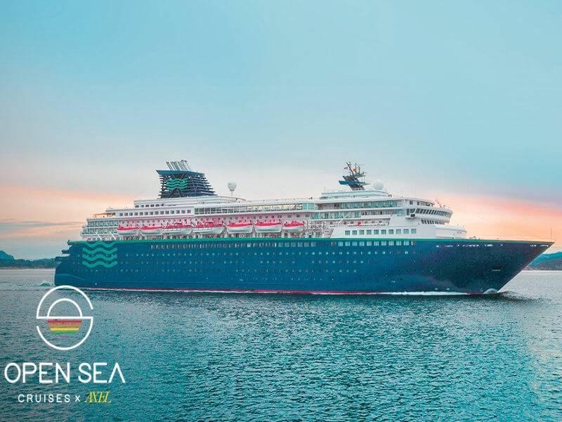 Alle an Bord: Die schwule Kreuzfahrt von Open Sea Cruises x Axel heizt dir ein