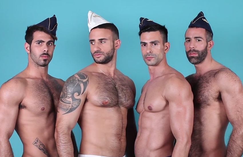 WATCH : Sailormen from Tel Aviv disembark in Paris !