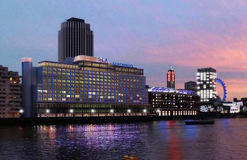London Mondrian : Opening on September 30