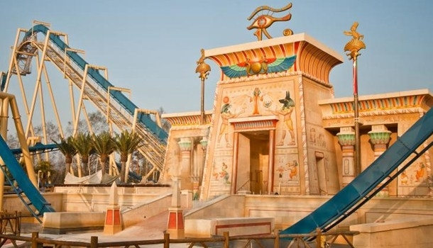 Discover ancient Egypt at the Parc Asterix