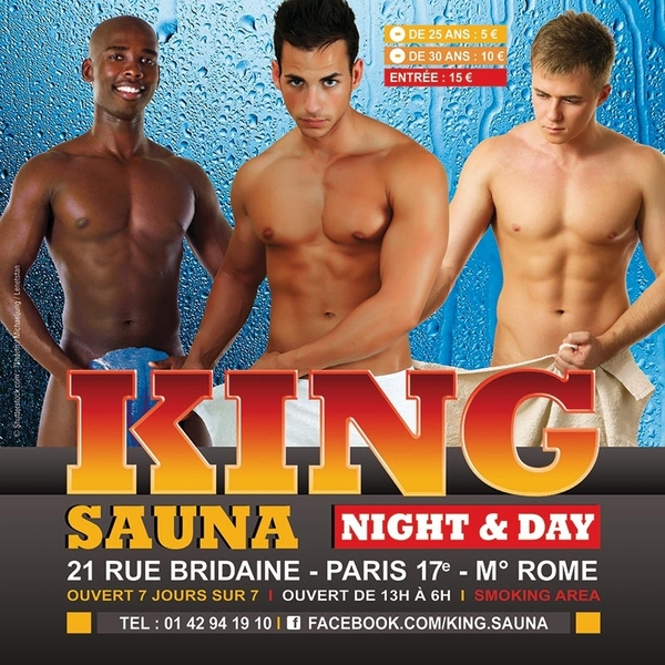 SAUNA GAY 18EME PARIS