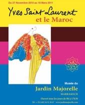 Idée visite à Marrakech, la nouvelle expo Yves Saint Laurent