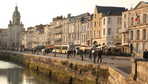 La Rochelle et Saintes, les deux sœurs jumelles