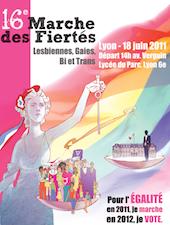 Samedi, la gay pride de Lyon défile pour l'égalité