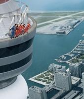 L'Haut-Da Cieux, nouvelle attraction extrême de la CN Tower de Toronto !