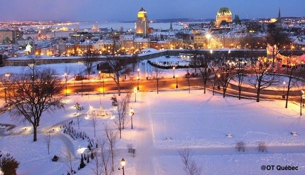 Québec, plaisirs d'hiver