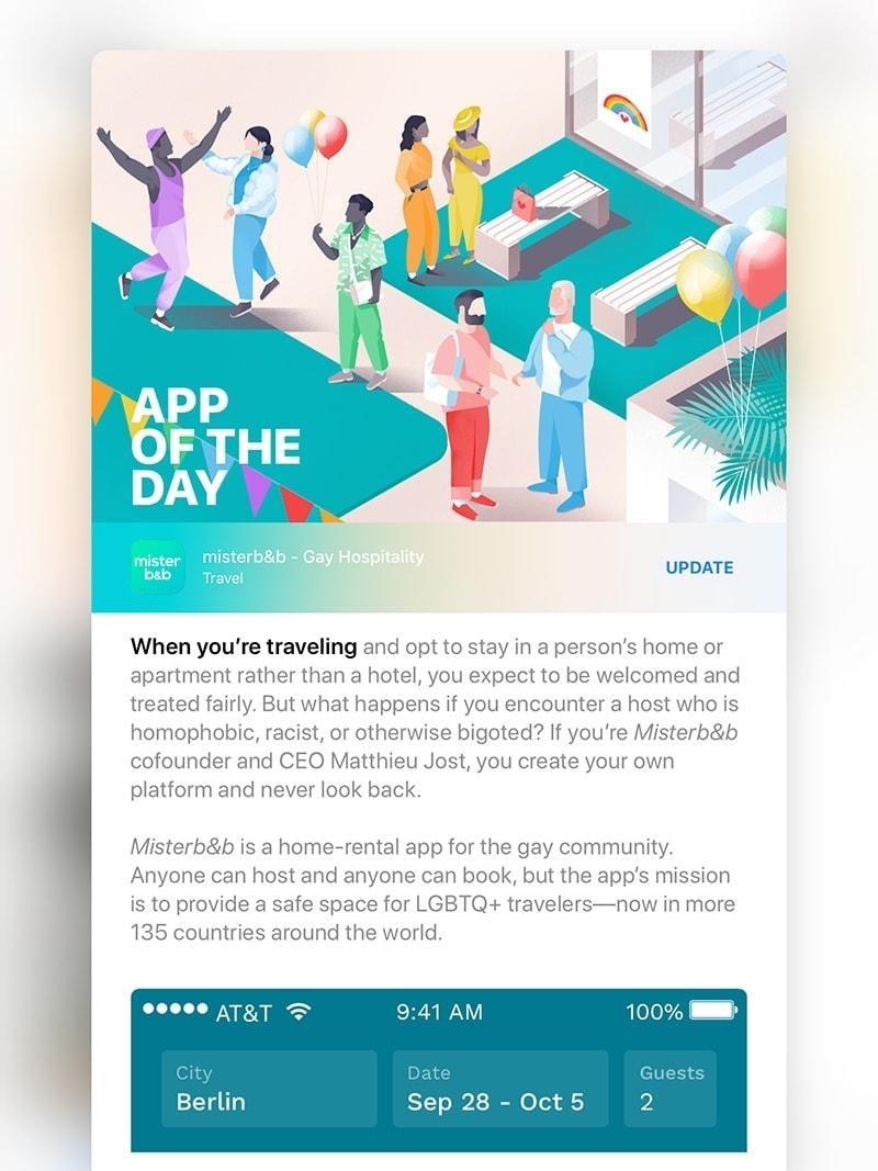 misterb&b IOS app