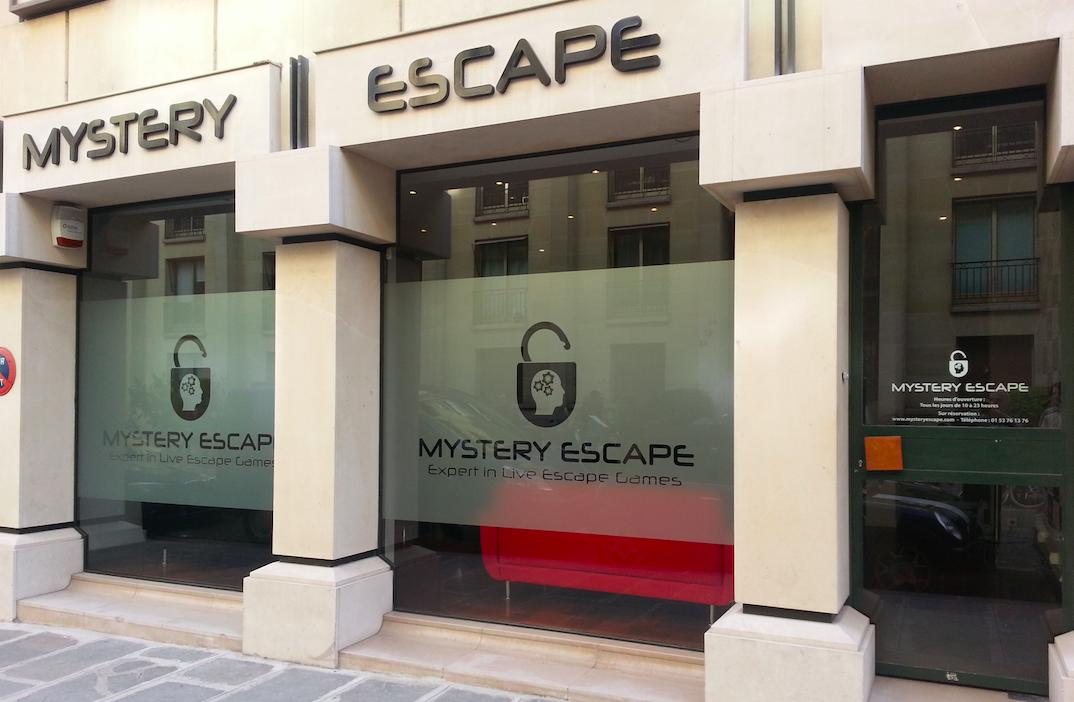 Mystery escape: THE live escape game of Paris