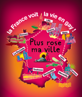 Plus Rose Ma Ville fait escale à Lyon sur PinkTV