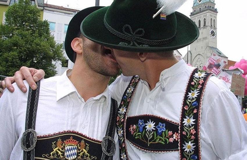 Gay Sunday at the Oktoberfest in Munich