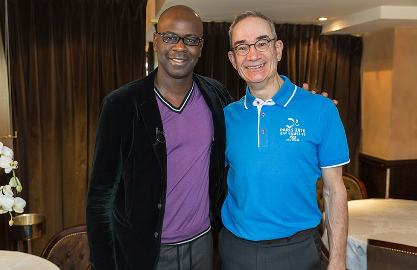 Lilian Thuram, ambassadeur de Paris 2018 - Gay Games 10