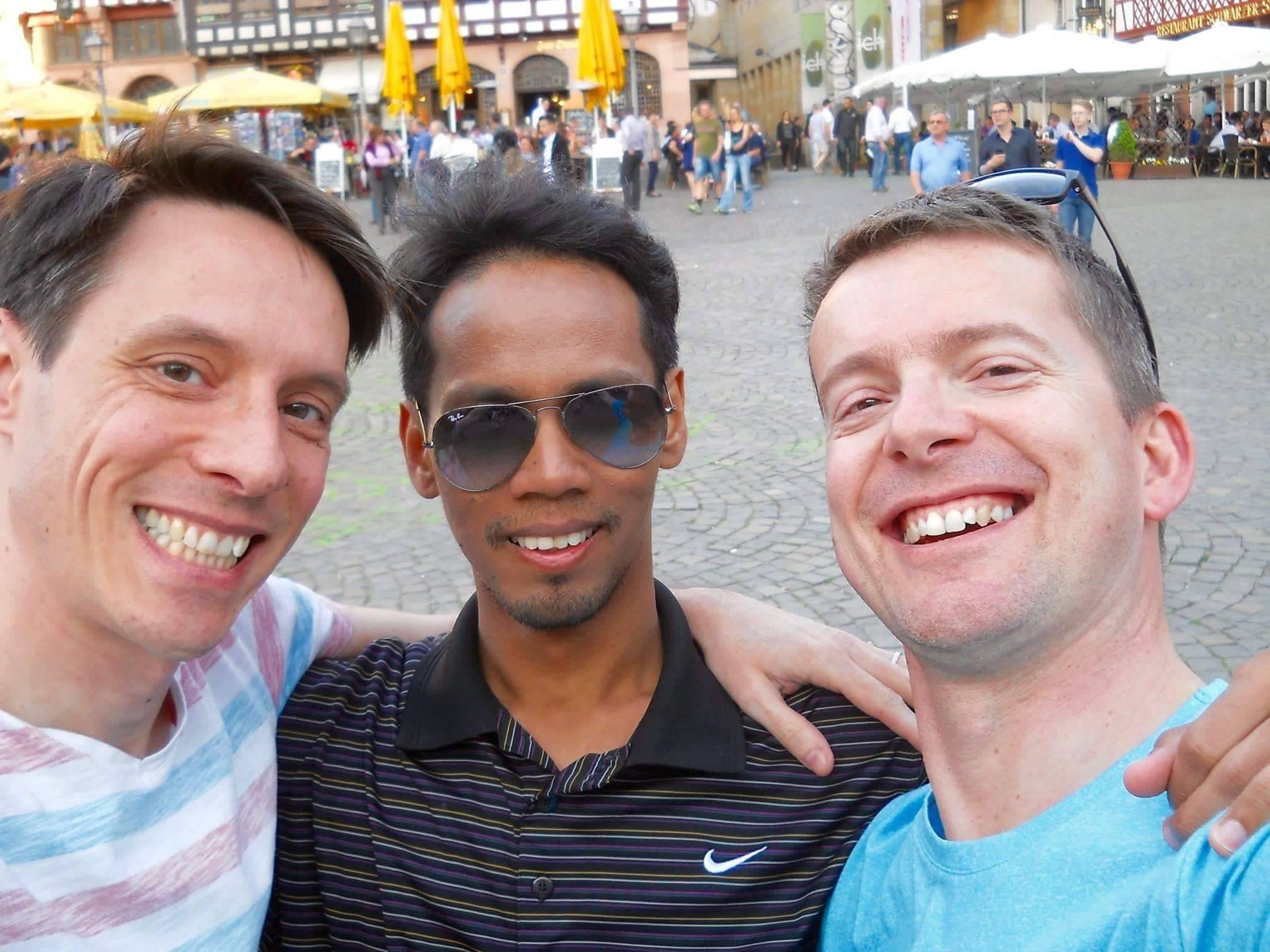 Host story: Frankfurt's enthusiast couple of hosts