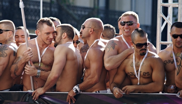 Orgullo 2012 à Madrid, la plus grande marche gay européenne sous la canicule