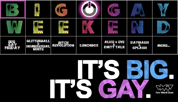 In Sydney, the Big Gay Weekend is about to begin!