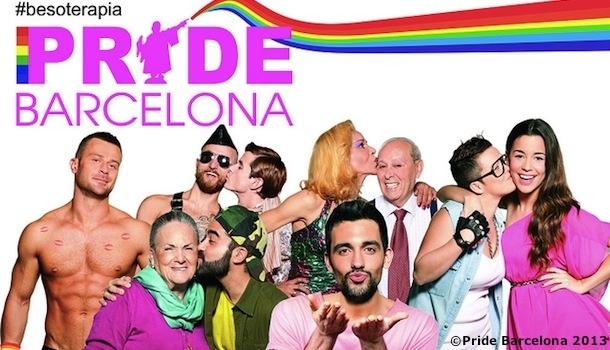 Barcelone : la Gay Pride approche.