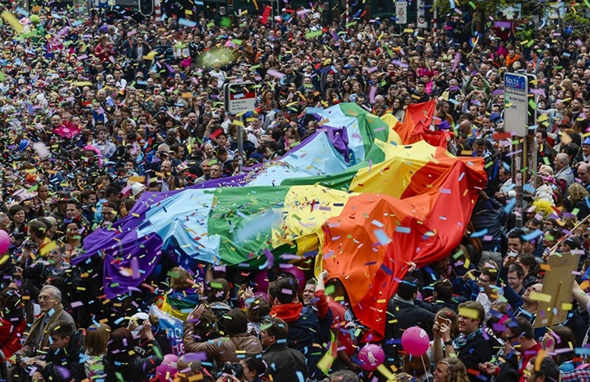Gay pride in Brussels: 19th edition on May 17