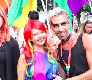 gay parade københavn rute