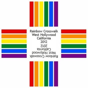 Un passage piéton « rainbow » à LA pour la gay pride ?