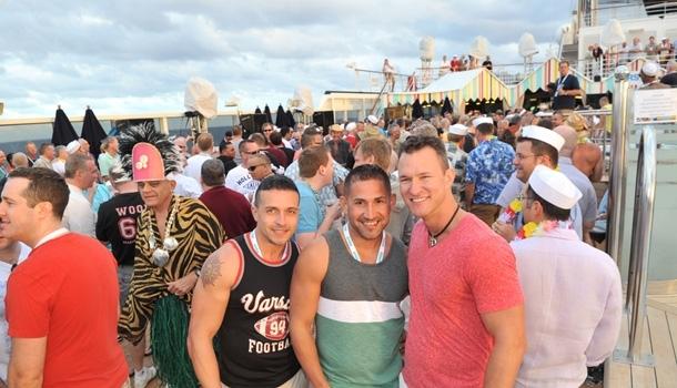 La première croisière gay de l'été en Méditerranée s'élance vendredi de Barcelone