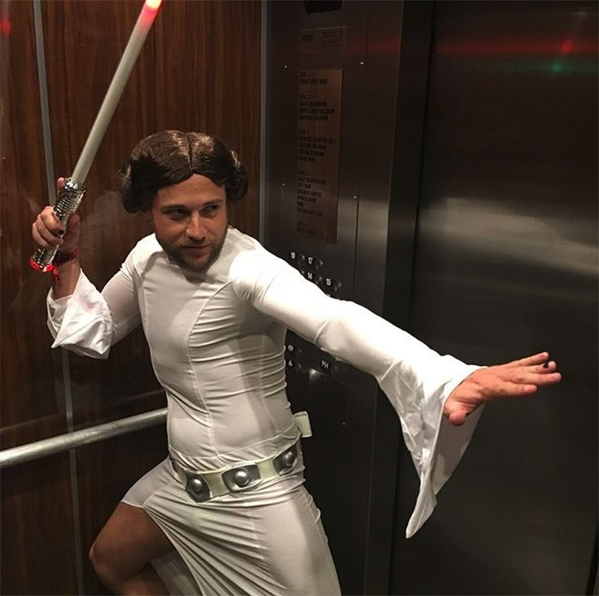 Colby Melvin gay Halloween