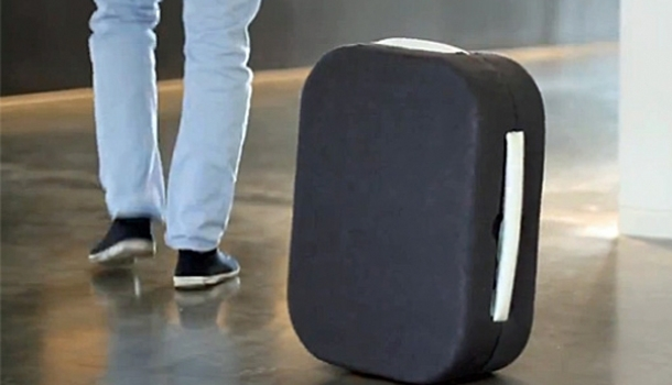 Attention, vous êtes suivi par… une valise !