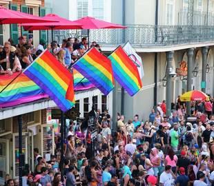 gay pride de la Nouvelle-Orléans