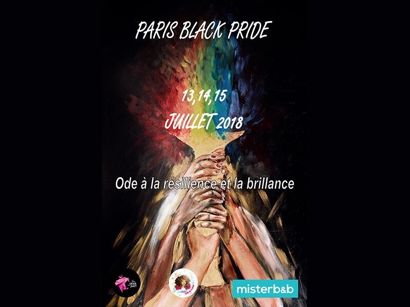 Assumez votre fierté: Paris Black Pride 2018