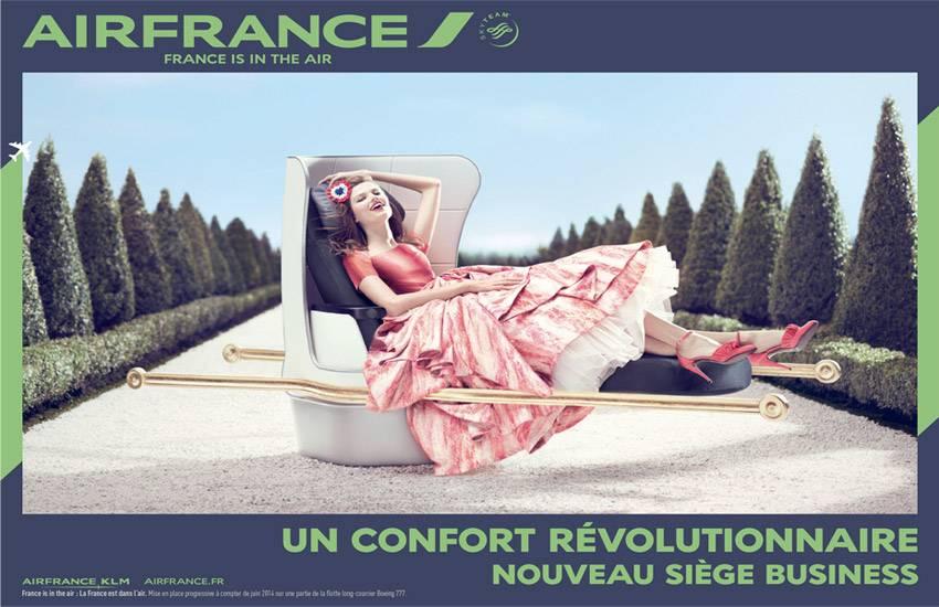 Air France dévoile sa nouvelle campagne publicitaire