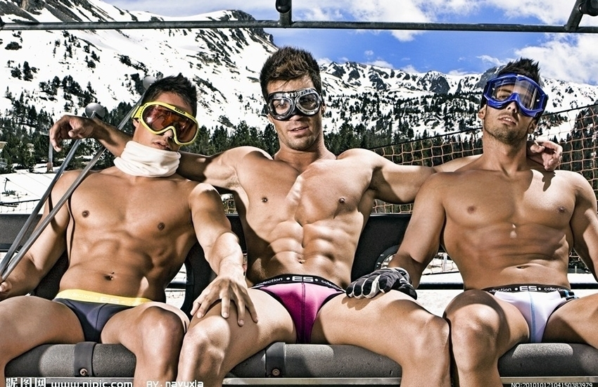 European Snow Pride, the gay event of the winter, in Tignes, France