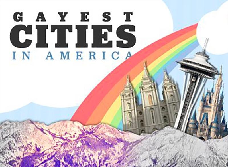 Le palmarès, très subjectif, des villes les plus gay des Etats Unis !