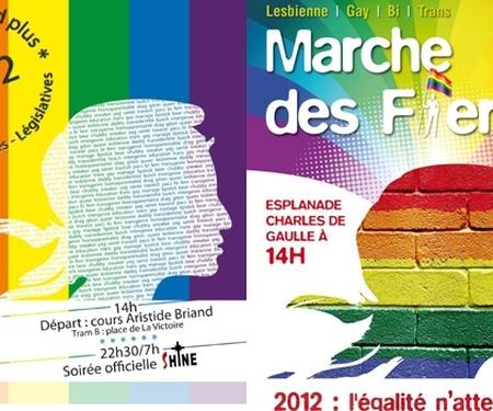 Marche des Fiertés : défilés à Bordeaux et Rennes ce week-end