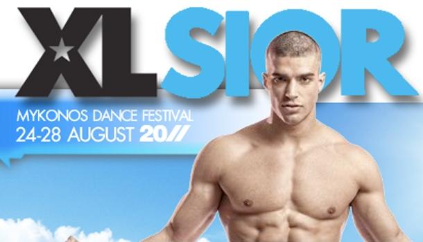 Infinita rejoint XLSIOR festival, le festival gay de Mykonos, en août !