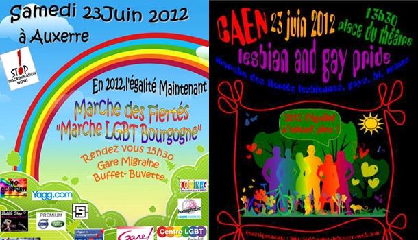 Ce week-end, Auxerre privée de gay pride, et marche des Fiertés en Normandie