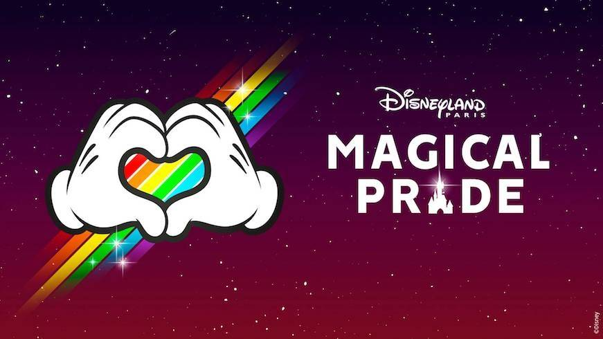 Experience a touch of magic at Disneyland® Paris' Magical Pride