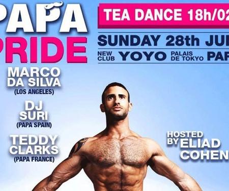 Papa party pour la gay pride de Paris