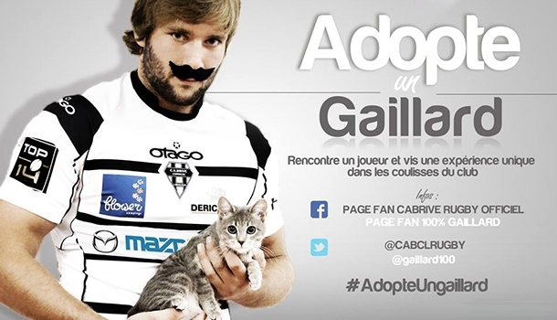 Adopt a Rugby Player, Brive's very friendly campaign