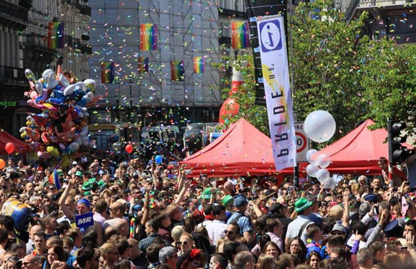 Gay Pride Bruxelles : 20 ans en 2015 !