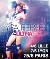 Ysa Ferrer en concert à Paris le soir de la gay pride