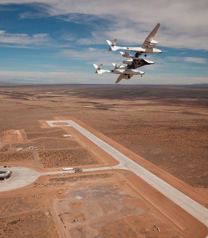 Inauguration en grande pompe du 1er aéroport spatial !
