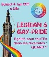 Samedi, la gay pride de Lille part en chasse contre les discriminations