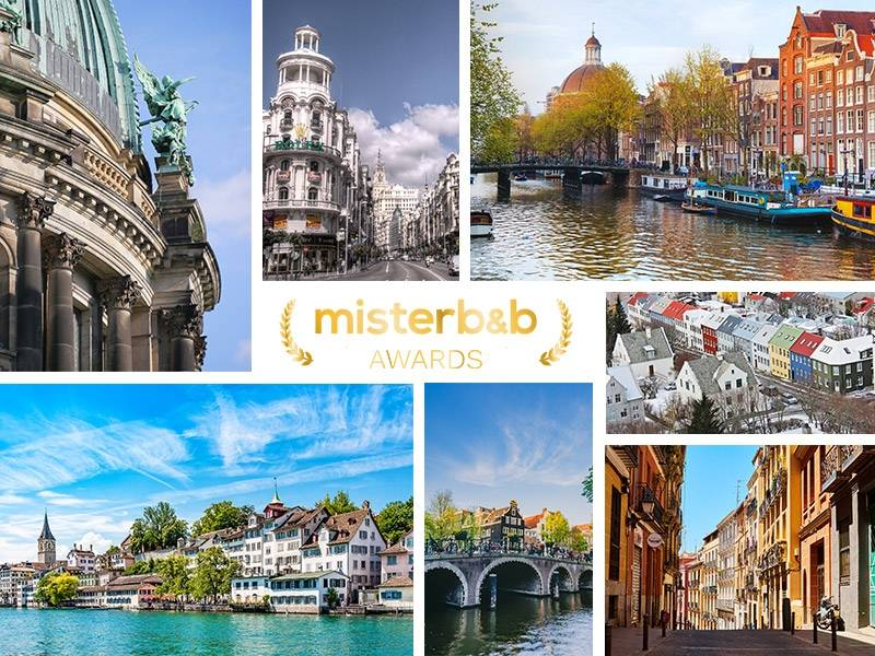 the misterb&b awards: top-rated hosts in Europe