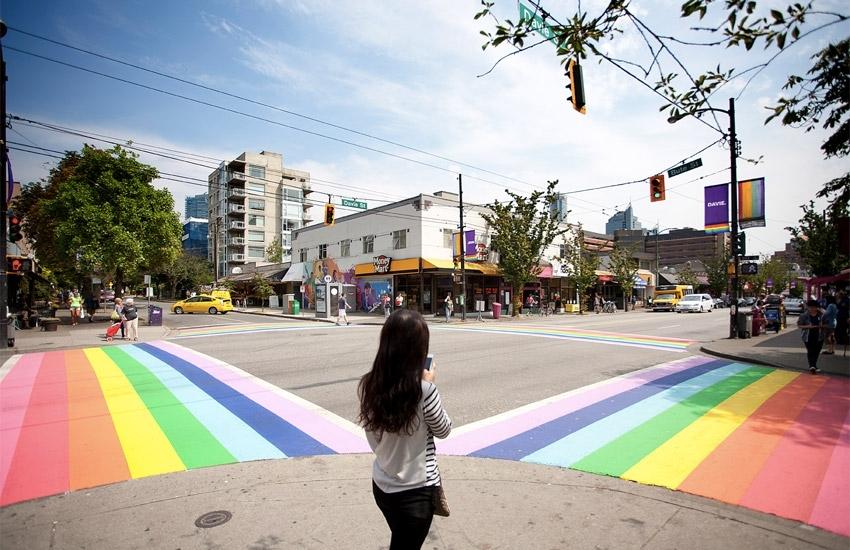 Rainbow Crosswalks soon in Castro, San Francisco